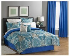 MyHome Quinton 8 Piece Bedding Set with 12 Piece Accessory Set #MyHome