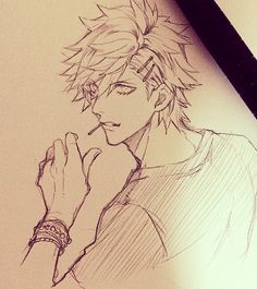 Ranmaru -Uta no prince sama Guy Drawing, Drawing Reference, Drawing Sketches, Drawings, Anime Guys Shirtless, Hot Anime Guys, Manga Art, Anime Art, Comic Anime