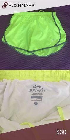 NIKE Dri fit running shorts NIKE DRI FIT. Running shorts. Gently used. Nike Other
