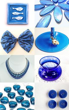 ~ Ocean Blue ~ by Bubblegum Graffiti on Etsy--Pinned with TreasuryPin.com