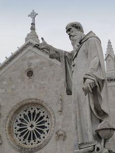 San Benedetto da #Norcia #Umbria