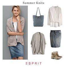 #Summer #knit - perfect companion for every day and every temperature