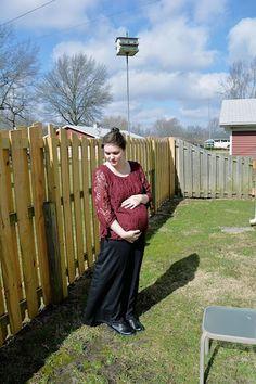 Rachel Jaybird: sunny smiles... maternity outfit post