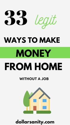 Are you trying to figure out how to make extra money without a real job? We've compiled a list with over 30 ideas to earn money outside of your day job. Make Money Online Now, Make Money Today, Earn Money From Home, Make Money Fast, Make Money Blogging, Make Money From Pinterest, Need Money, Craft Business, Find A Job