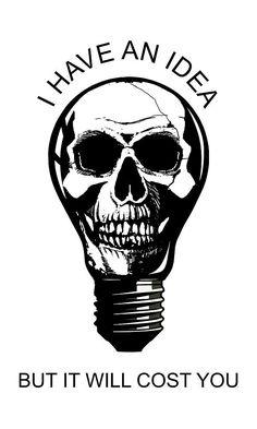 #ihaveanidea #brightideas #tshirts #artprints #skull #lightbulbs #digitalart #graphicart #illustration #skulls #skullart ...Kevin L Brooks (@kevinlbrx_ilr) | Twitter