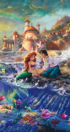 Super Drawing Disney Pixar The Little Mermaid Ideas Ariel Disney, Disney Dream, Disney Magic, Princesa Ariel Da Disney, Walt Disney, Disney Little Mermaids, The Little Mermaid, Disney Princess, Disney Mickey