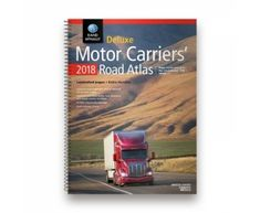 Rand McNally 2018 Deluxe Motor Carriers Road Atlas for US Canada and Mexico with Spiral Binding and Laminated Pages * You can find more details by visiting the image link. Mileage Chart, Fifth Wheel Toy Haulers, Canada, Gps Navigation, Travel Guides, North America, Mexico, Trucks, Bridges
