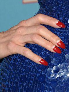 Dita Von Teese Half Moon Manicure