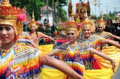 Nakhon Si Thammarat Tha lande 22 Septembre Manohra le 10 Mois Festival MANOHRA est la danse folklori Banque d'images