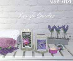 Kringle Candles - exclusive to Aromatize