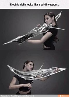That's an amazing violin