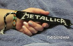 Metallica friendship bracelet
