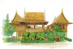 บ้านท่าเสา ราชบุรี บ้านไทย มรดกทางวัฒนธรรม