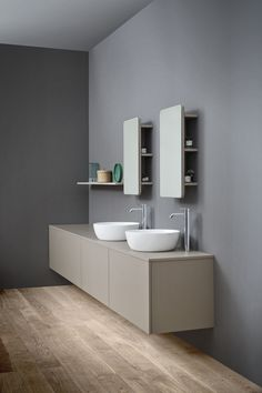 Ovvio 38 - Above Counter Basin by Studio Bagno Concrete Basin, Bathroom Showrooms, Classic Portraits, Wellness Programs, Art Prints Quotes, Healthy Living Tips, Your Perfect, Beautiful Bathrooms, Bathroom Furniture