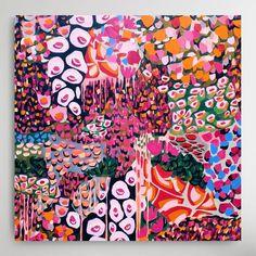 "a l i c i a b e e c h """"She was wild"" - sold Bloom Exhibition @jumbledonline"" alicia beech artist Abstract Art, Bloom, Artist, Painting, Painting Art, Paintings, Painted Canvas, Drawings, Artists"