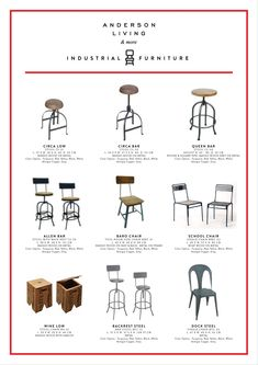 Anderson Living & Co. For details: hcainterior.sby@gmail.com