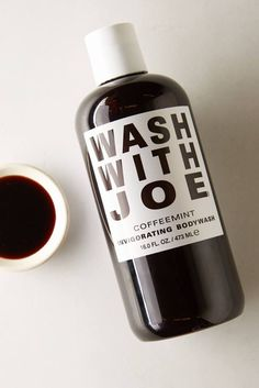 Wash with Joe coffee body wash. Seriously, it's great for your skin!  | holiday gift guide 2015