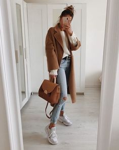 MissRachelBaker ♕ Outfits 2019 Outfits casual Outfits for moms Outfits for school Outfits for teen girls Outfits for work Outfits with hats Outfits women Casual Fall Outfits, Fall Winter Outfits, Autumn Winter Fashion, Trendy Outfits, Cute Outfits, Fashion Outfits, Travel Outfits, Fashion Ideas, Casual Winter Style
