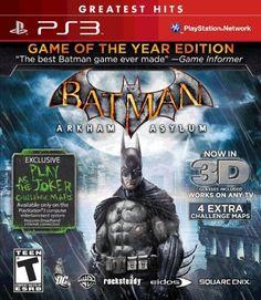 Batman Arkham Asylum :)