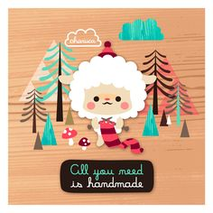 All you need is handmade by Charuca