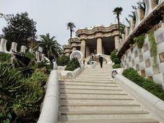 Admired Gaudi Architecture in Barcelona