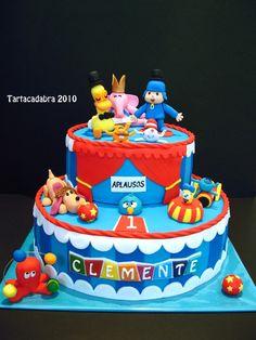 Bizcochos De Pocoyo cakepins.com