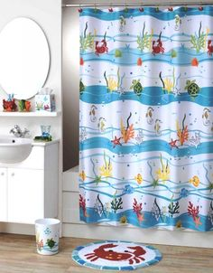 Exceptional Crab Shower Curtain U2013 Lime | Serena U0026 Lily | Surface | Pinterest | Kid  Bathrooms, Bath And House