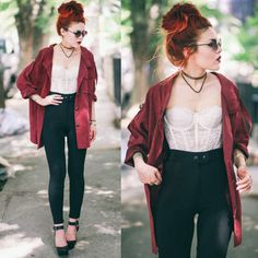 Image result for alternative rock style fashion