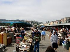 Alemany Flea Market, open every Sunday. Market Hours: 7:00am-3:00pm