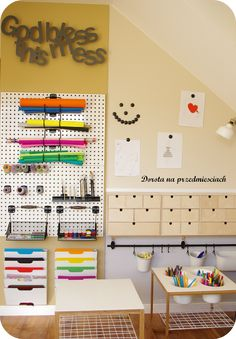 pokój nastolatki, kącik kreatywny, DIY room