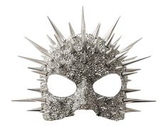 Metallic mask, studded & covered with Swarovski crystals. Originally designed for Madonna's Super Bowl Halftime performance 2012. | Constellation Mask, Paradox Designs