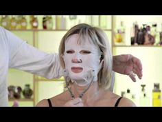 How To Use Temple Spa's Contourist Skincare Mask From Exclusive Red Carpet Range - YouTube