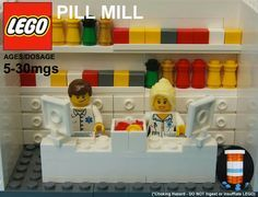 Lego pharmacy