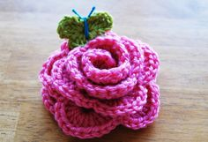 great crochet rose tutorial, thanks so for Free pattern xox