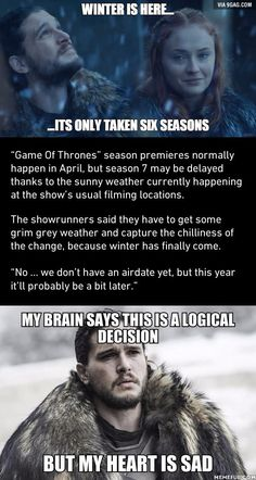 Game Of Thrones Season 7 Delayed Release For A Good Reason - 9GAG