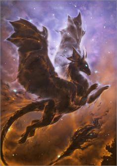 Dragon Nebula by *BronzeHalo on deviantART