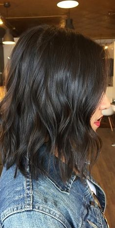 Gallery of all hair color images featured on Mane Interest. Gallery of all hair color images feature Hair Color 2018, Hair Color For Black Hair, Hair 2018, Brown Hair Colors, Cool Hair Color, 2018 Color, Black Hair Bob, Black Brown Hair, Black Ombre
