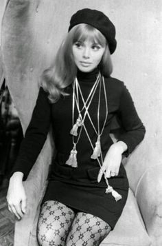 Britt Ekland ,1960s