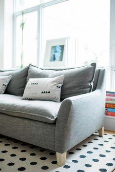 Brooklyn living - Vane Broussard's living room re-do