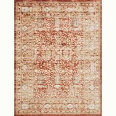 Trinity Terracotta Rug, for the family room.