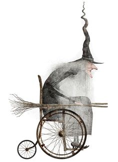 Iban Barrenetxea. The Kitchen witch is no longer flying. She's got wheels now. Whoo hooo