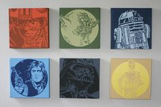 star wars canvases