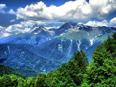 Caucasus Mountains - Sochi, Russia
