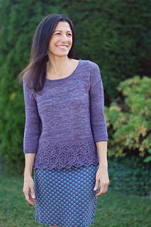 Heart of Glass #knittingpattern by Mary Annarella of #LyricalKnits on #Ravelry