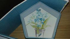 Detalle interior joyero pentagono