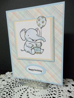 Elebrate!  (TSC0217) by MrsBoz - Cards and Paper Crafts at Splitcoaststampers