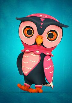 i1c135 Owl City by Teodoru Badiu