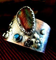 Enamel Jewelry, Cuff Bracelets, Metal, Metals