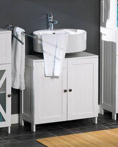 Waschbeckenunterschrank »Louis« (weiß lackiert)