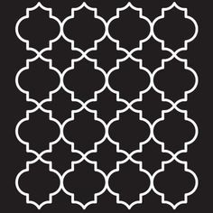 """Another great Moroccan motif...may make a great stencil for one of our walls!  9""""x11"""""""
